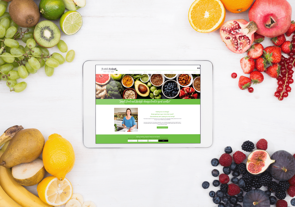 Whole Foodsmith - Website Design by Lemon Crush, Melbourne